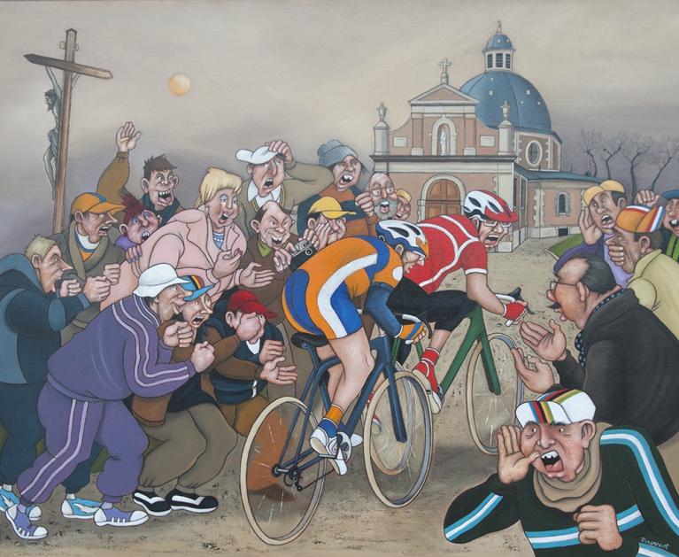Dans le sillage du Tour de Flandre