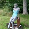 'Au bord de l'eau'  bronze