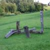 'Ankerplaats'  hout-ijzer