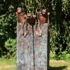 'Samen genieten' koper-bronsplaat