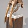 'Aquarius' brons-glas-corten-marmer