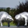 'Ringo' en 'Rudi' aluminium gegoten