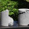 'Das Paar' (2 delen) beton