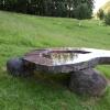 'A Heavy Raindrop' graniet- diabas
