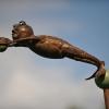 'De bal' koper-bronsplaat
