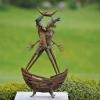 'Vies partagées' bronze
