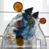 '978'  zandgegoten glas - artefacten