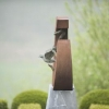 'Remember Hiroshima'   corten - brons