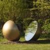 'The Earth - The World'   gegalvaniseerd staal - spiegel