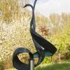 'Zwanenwals' brons-RVS (unicum)