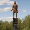 'Het wederwoord' bronze