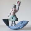 'Ursula' bronze bemahlt