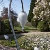'Nonchalances' geblazen glas- inox